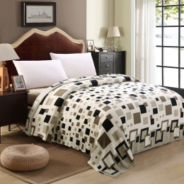 Marka Super tanie plaid narzuty koc na łóżko plaid koc polarowy zimowe dekoracje dla domu