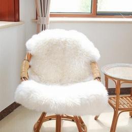 FUNIQUE futro sztuczna kożuch włochaty dywanik do salonu dywaniki do sypialni skóry futra zwykły puszyste dywany zmywalne sypial