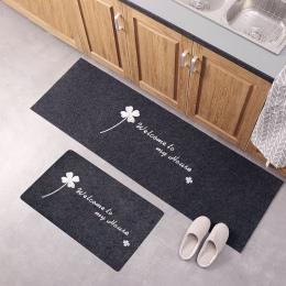 Akcesoria kuchenne drzwi Mat Tapete drzwi maty dywan cienkie antypoślizgowe kuchnia dywan łazienkowy pokój Pad maty podłogowe ma