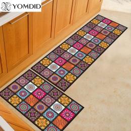 2 sztuk kuchnia mata tańsze antypoślizgowe nowoczesne dywaniki salon balkon zestaw dywaników do łazienki wycieraczka mata do kąp