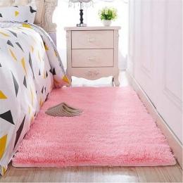 Zagęszczony myte jedwabne włosy antypoślizgowe dywan stolik kawowy do salonu koc sypialnia lampki nocne mata yoga dywaniki jedno
