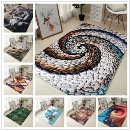 80*120 cm kreatywny typu europa 3D druk dywan przedpokój wycieraczka antypoślizgowa dywan łazienkowy pochłaniania wody kuchnia m
