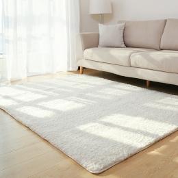 Dywanik do salonu obszar solidna dywan puszyste miękkie Home Decor biały pluszowy dywan dywan do sypialni kuchenne maty podłogow