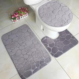 3 sztuk absorpcji wody dywan łazienka mata antypoślizgowa przyssawka zestaw Mat do kąpieli kuchnia drzwi mata podłogowa dywan dl