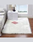 Nowoczesny elegancki dywan do salonu sypialni puszysty aksamitny w dotyku długie włosie prostokątny kwadratowy miękki