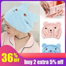 Hoomall suchy kapelusz do włosów kapelusz do włosów z mikrofibry suchy kapelusz ręcznik czepek kąpielowy ręczniki łazienka wanna