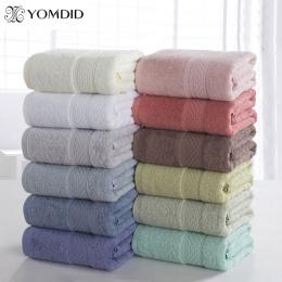 100% bawełna stałe ręcznik kąpielowy ręcznik plażowy ręcznik dla dorosłych szybkie suszenie miękki 17 kolorów gruby antybakteryj