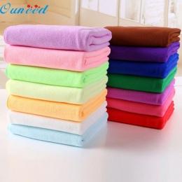 Ouneed szczęśliwy dom kolorowe 70x140 cm chłonne kąpiel z mikrofibry do suszenia ręcznik plażowy prysznic