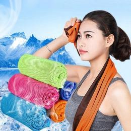 Na świeżym powietrzu chłodzenie lodu ręcznik sportowy narzędzie trwałe błyskawiczne ręcznik chłodzący dla Fitness hip-hop joga p