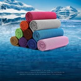 Siłownia Sport szybkie suche łazienka 1 Piece pływanie sportowe do biegania szybkie suche ręcznik ICE chłodzenia suche zimny ręc