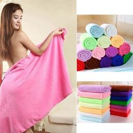 70x140 cm z włókna De Bambou z mikrofibry Sechage Rapide Douche ręcznik kąpielowy Douce, Super chłonne tekstylia domowe duży gru