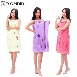 Nowy ręczniki kąpielowe moda pani nadające się do noszenia szybkie suszenie magia ręcznik kąpielowy ręcznik plażowy płaszcze kąp