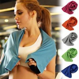 Fitness szybki, zimne poczucie ręcznik sportowy przenośny z mikrofibry tkaniny szybkoschnący ręcznik na lód jogi na zewnątrz ręc