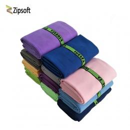 Zipsoft szybki, suchy ręcznik ręcznik kąpielowy z mikrofibry podróży sport pływanie siłownia mata do jogi dorosłych koc Sauna du