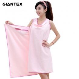 GIANTEX Mikrofibry Kobiet Sexy Kąpieli Ręcznik Poręczny Ręcznik Plażowy Miękkie Plaża Wrap Spódnica Super Chłonne Wanna Suknia U