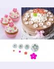 2016 gorąca sprzedaż 4 sztuk/zestaw kwiat śliwy tłok kremówka foremka Sugarcraft ciasto narzędzia dekorowanie choinki ciasto dek