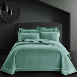 3 sztuk kołdra bawełna łóżko rozprzestrzeniania narzuta Queen size zestaw narzut na łóżko materac topper koc poszewka couvre świ