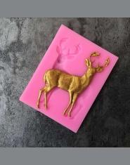 Aouke boże narodzenie Deer dekoracji Cookie Cutter kształt Food Grade ciasto silikonowe formy ciasto narzędzia B025