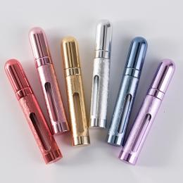 12 ml Mini wielokrotnego napełniania przenośne puste perfumy z atomizerem butelka zapach pompa Spray przypadku podróży kosmetycz