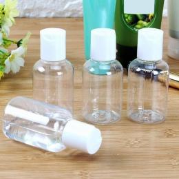 1/3 sztuk pusty przezroczysta butelka 50 ml z tworzywa sztucznego emulsja krem pojemnik szampon przezroczysty płyn Mini balsam b