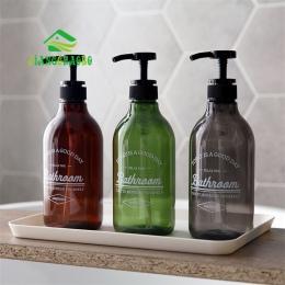 JiangChaoBo Nordic styl balsam do butelkowanej szampon balsam butelka do rąk balsam żel pod prysznic wciśnięty typu mała butelka