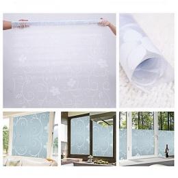 45x100 cm samo klej PCV Film wodoodporna okno taśma ograniczająca widoczność monitora naklejki matowe szklane nieprzezroczyste s
