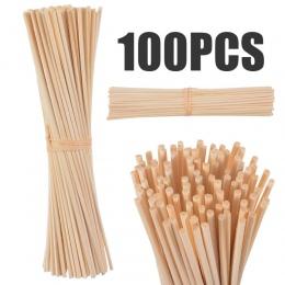 30 sztuk/100 sztuk Rattan trzciny kije trzcinowy dyfuzor zapachu dyfuzor olejów zapachowych patyczki rattanowe dla domu łazienki