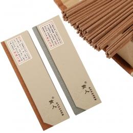 180 sztuk/paczka kadzidło naturalne kije pachnące drewno aromatyczne chińskie kadzidełka czyste powietrze pomocniczy snu zdrowia