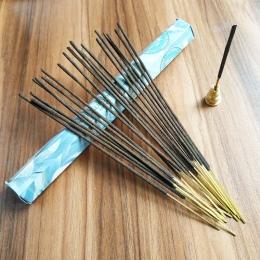 Jedno małe pudełko indyjski White Sage kij kadzidło ręcznie robione kije indie importowane czyste naturalne aromaterapia świątyn