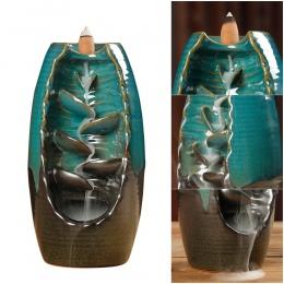 10 sztuk kadzidełka + cofaniu kadzidła palnika ceramiczne aromaterapia piec zapach aromatyczny biuro w domu kadzidło rzemiosło D