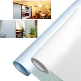1 sztuk 30/40/50 cm PVC szeroki nieprzezroczyste prywatności szkło statyczne folia okienna wystrój domu z matowego okna naklejki