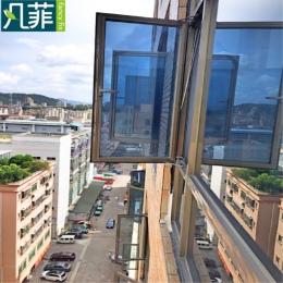 FANCY-FIX folia okienna prywatności kontrola ciepła w jedną stronę okienna folia przeciwsłoneczna witraż folia naklejki, odblask
