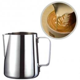 Fantastyczna kuchnia ze stali nierdzewnej dzbanek do spieniania mleka kafiatera do espresso Barista Craft kawy Latte dzbanek do