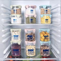 Odporne na wilgoć kuchnia pudełko do przechowywania uszczelnienie do przechowywania żywności pojemnik z tworzywa sztucznego do ś