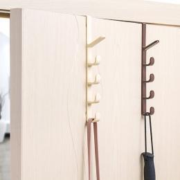KECTTIO z tworzywa sztucznego do przechowywania w domu organizacja haki szyny drzwi do sypialni wieszak na ubrania wieszak uchwy