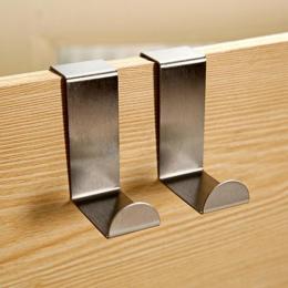 2 PC hak drzwi szafka kuchenna ze stali nierdzewnej wieszak na ubrania wieszak akcesoria łazienkowe wieszak