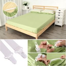 4 sztuk/zestaw wygodne łóżko arkusz pokrycie materaca koce chwytaki zacisk mocujący łączniki elastyczny zestaw #9505