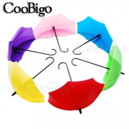 Lepkie parasol kształt hak wieszak kreatywny klucz wieszak Rack Home dekoracyjny uchwyt ścienny hak kuchnia/łazienka/sypialnia/