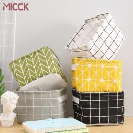 Mick DIY kosz do przechowywania na biurko rozmaitości bielizna pudełko do przechowywania zabawek kosmetyczne książki organizator