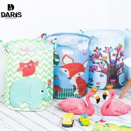 SDARISB 35*45 cm wodoodporny kosz do przechowywania zabawek kosz na odzież do prania torba ubrania pudełko do przechowywania zab