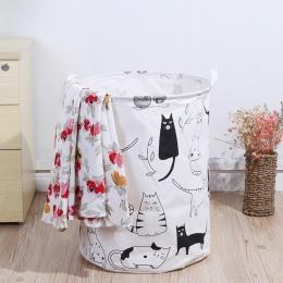 Składany kosz na bieliznę dla zabawki geometria do przechowywania beczki do przechowywania przechowywanie odzieży wiadro pralni