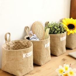 Nowy salon worek do przechowywania torby materiałowe wiszące sklep spożywczy tkaniny doniczka obudowa kosz
