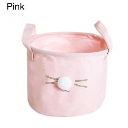 Do włosów piłka kot pojemnik na ściereczki pudełko poręczny biurowe kosz do przechowywania zabawek moda organizer do domu kuchen