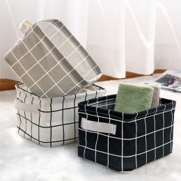 ONEUP kosz do przechowywania DIY pulpit organizuj składane pościel pudełko do przechowywania zabawek rozmaitości bielizna kosmet