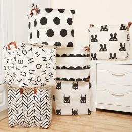 Kostki składany kosz na pranie dla dzieci kosz do przechowywania zabawek rozmaitości książki lego zabawki dla psów organizator p