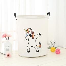 Kosz na bieliznę koszyk piknikowy stojak pudełko do przechowywania zabawek Super duża torba bawełna do prania brudne ubrania duż