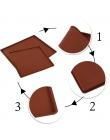 1 pc non-stick Silikon mata do piekarnika mata do zwijania ciasta Mata Do Pieczenia Funkcjonalne Pieczenia Macaron Ciasto Pad Sw