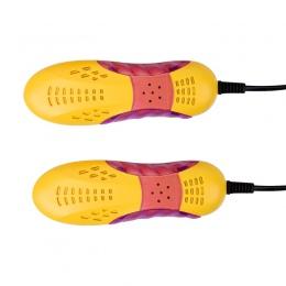Darmowa wysyłka samochód wyścigowy kształt Voilet światła suszarka do butów Foot Protector Boot zapach dezodorant osuszanie urzą