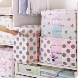 Składane miejsce do przechowywania torba na ubrania kocyk do okrywania szafa sweter organizator pudełka woreczki szafka na ubran