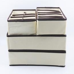 Wielu rozmiar bielizna organizer biustonoszy pudełko do przechowywania szuflady szafa organizatorzy pudełka na bielizna szalik s